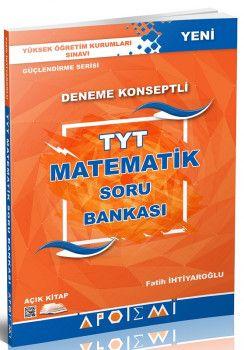 Apotemi YKS 1. Oturum TYT Matematik Deneme Konseptli Soru Bankası