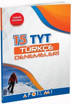 Apotemi YKS 1. Oturum TYT Türkçe Tamamı Çözümlü 15 Denemeleri