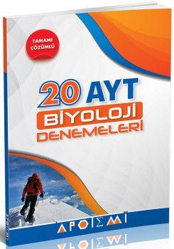 Apotemi YKS 2. Oturum AYT Biyoloji Tamamı Çözümlü 20 Deneme