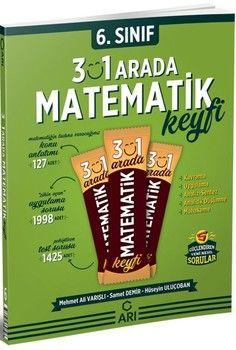 Arı Yayıncılık 6. Sınıf Matemito 3 ü 1 Arada Matematik Keyfi