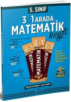 Arı Yayıncılık 5. Sınıf Matemito 3 ü 1 Arada Matematik Keyfi