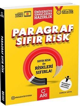 Arı Yayıncılık Paragraf Sıfır Risk