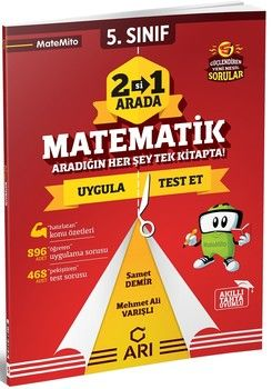 Arı Yayıncılık 5. Sınıf Matematik 2 si 1 Arada Matemito