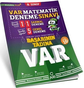 Arı Yayıncılık 8. Sınıf Matematik VAR Deneme Sınavı