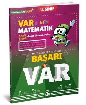 Arı Yayıncılık 4. Sınıf Junior Matematik VAR Soru Bankası