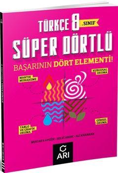 Arı Yayıncılık 8. Sınıf Türkçe Süper Dörtlü