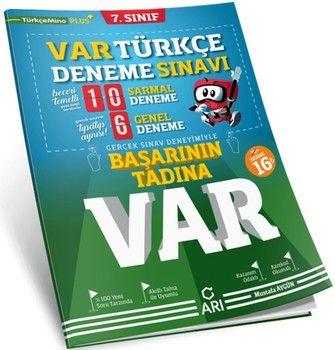 Arı Yayıncılık7. Sınıf Türkçe Var Deneme Sınavı