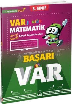 Arı Yayıncılık 3. Sınıf Matematik Junior VAR Soru Bankası