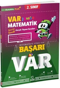 Arı Yayıncılık 2. Sınıf Matematik Junior VAR Soru Bankası