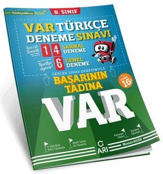 Arı Yayıncılık 8. Sınıf Türkçe VAR Deneme Sınavı