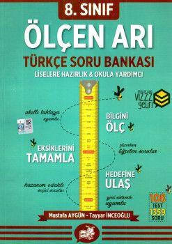 Arı Yayıncılık 8. Sınıf Türkçe Ölçen Arı Soru Bankası