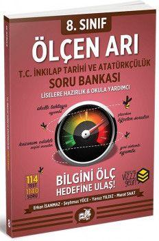 Arı Yayıncılık Sınıf T.C. İnkılap Tarihi ve Atatürkçülük Ölçen Arı Soru Bankası