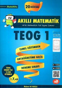 Arı Yayıncılık 8. Sınıf TEOG 1 Akıllı Matematik 20 Deneme Sınavı