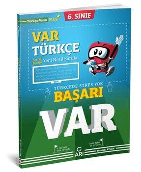 Arı Yayıncılık 6. Sınıf Türkçe Var Soru Bankası