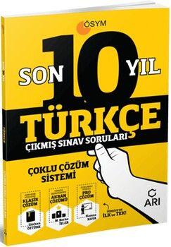 Arı Yayıncılık Türkçe Son 10 Yıl Çıkmış Sınav Soruları