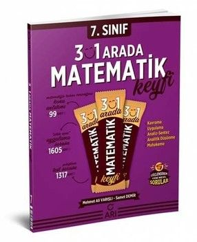 Arı Yayınları 7. Sınıf 3\'ü 1 Arada Matematik Keyfi
