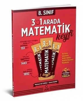 Arı Yayınları 8. Sınıf LGS 3\'ü 1 Arada Matematik Keyfi