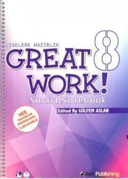 Arel Publishing 8. Sınıf Great Work Smart Notebook