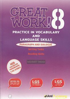 Arel Publishing 8. Sınıf LGS Great Work Practice İn Vocabulary and Language Skills