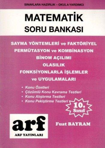Arf Yayınları 10. Sınıf Matematik Soru Bankası