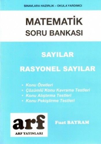 Arf Yayınları Matematik Soru Bankası Sayılar Rasyonel Sayılar