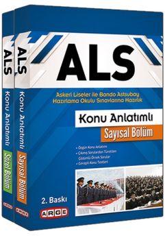 Arge Yayınları ALS Askeri Liseler ile Bando Astsubay Hazırlama Okulu Sınavlarına Hazırlık Konu Anlatımlı Set