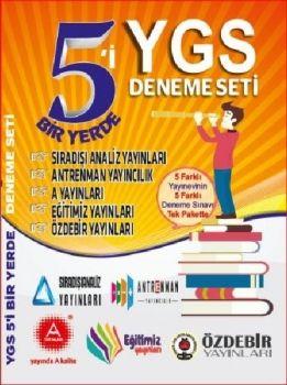 Aritmetik Yayınları YGS 5i Bir Yerde Deneme Seti 5 Farklı Yayın 5 Deneme Sınavı Tek Pakette