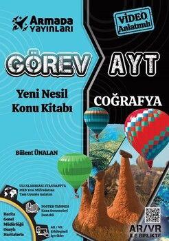 Armada Yayınları AYT Coğrafya Görev Yeni Nesil Konu Kitabı