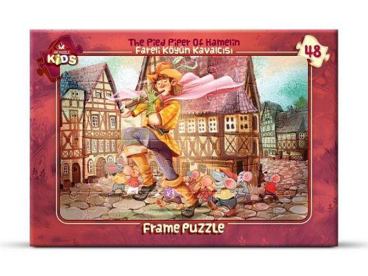 Art Çocuk Puzzle 48 Parça Fareli Köyün Kavalcısı
