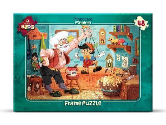 Art Çocuk Puzzle 48 Parça Pinokyo