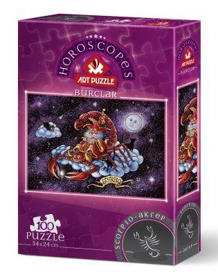 Art Puzzle Akrep Burcu 100 Parça Puzzle
