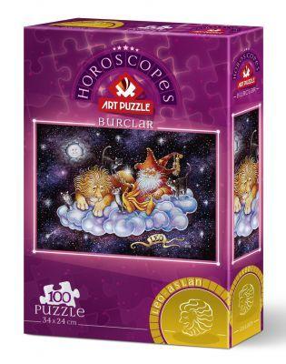 Art Puzzle Aslan Burcu 100 Parça Puzzle