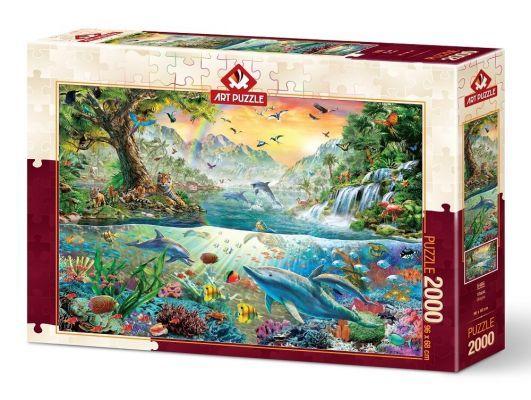 Art Puzzle Ütopya 2000 Parça Puzzle
