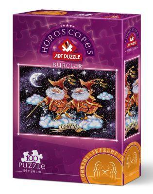 Art Puzzle İkizler Burcu 100 Parça Puzzle