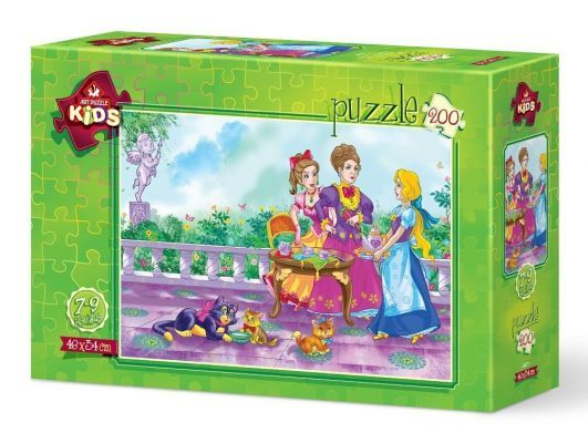 Art Puzzle Hizmetçi Prenses 200 Parça Yapboz