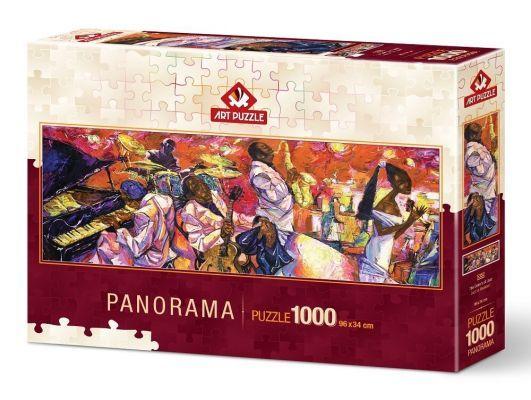 Art Puzzle Jazz'ın Renkleri 1000 Parça Panorama Puzzle