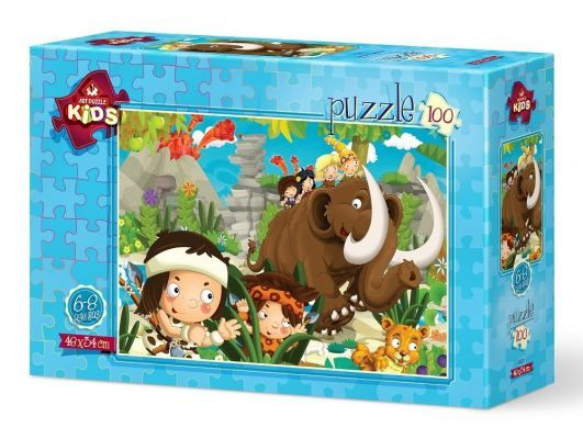 Art Puzzle Mağara Çocukları 100 Parça Yapboz