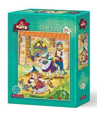 Art Puzzle Mutlu Aile 150 Parça Yapboz