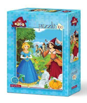 Art Puzzle Sihirli Kız 100 Parça Yapboz