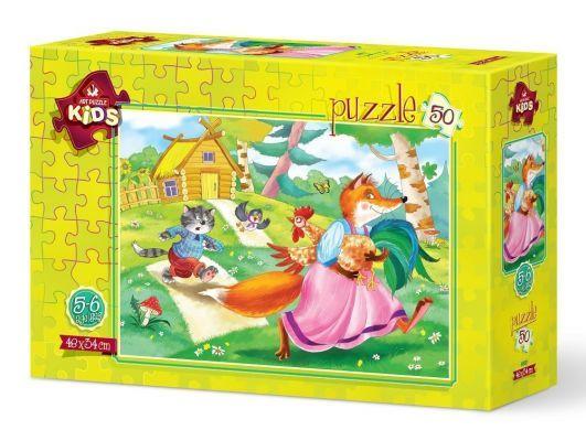 Art Puzzle Tavuk Hırsızı 50 Parça Yapboz