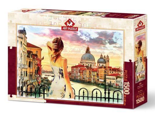 Art Puzzle Venedik'e Bakış 1500 Parça Puzzle