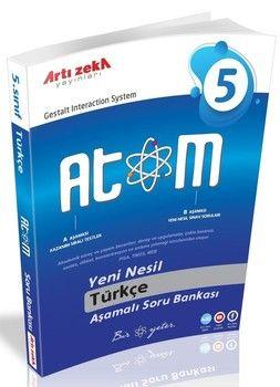 Artı Zeka 5. Sınıf Türkçe Atom Aşamalı Soru Bankası