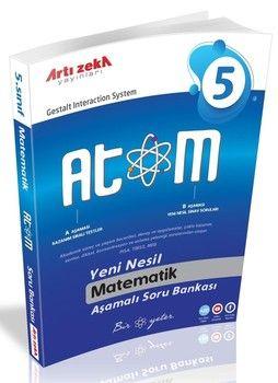 Artı Zeka 5. Sınıf Matematik Atom Aşamalı Soru Bankası