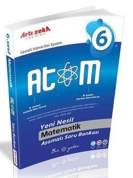 Artı Zeka 6. Sınıf Matematik Atom Aşamalı Soru Bankası