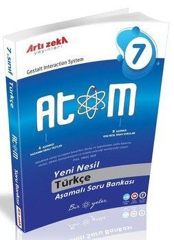 Artı Zeka 7. Sınıf Türkçe Atom Aşamalı Soru Bankası