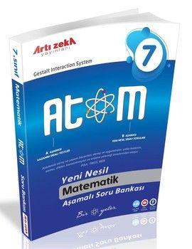 Artı Zeka 7. Sınıf Matematik Atom Aşamalı Soru Bankası