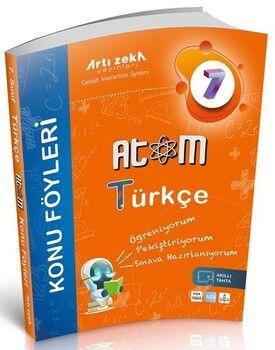 Artı Zeka 7. Sınıf Türkçe Atom Konu Föyleri