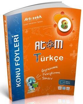 Artı Zeka 8. Sınıf Türkçe Atom Konu Föyleri