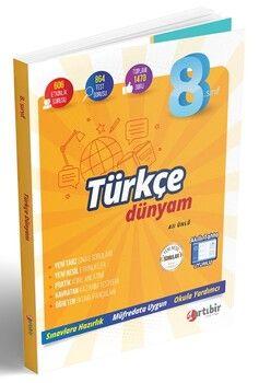 Artıbir Yayınları 8. Sınıf LGS Türkçe Dünyam