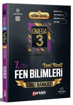 Artıbir Yayınları 7. Sınıf Fen Bilimleri Çetin Ceviz Omega 3 Soru Bankası